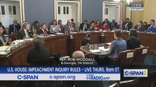 "Rob Woodall calls out Democrats ""nick-and-diming"" behavior"