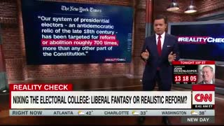 CNN Caught in Blatant Lie to Attack Electoral College