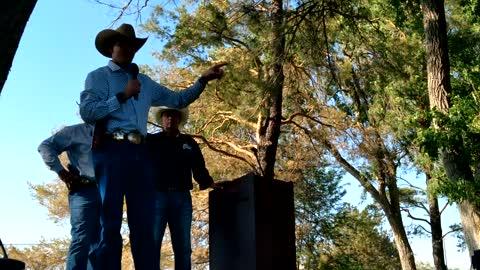 Northeastern Nevada sheriffs speak at patriotic gathering in Elko