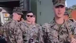We ask the Militaries if they got the vaccines - Watch their reactions...