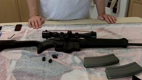 Kel-Tec SU16-C rifle