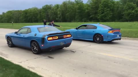 Scatpack Chargers vs. Scatpack Challengers