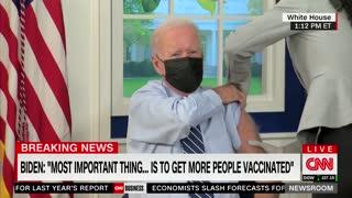 Biden Gets The Booster Shot