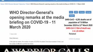 THE WORLD MUST KNOW COVID LIE VACCINE DOLORES CAHILL (DEC 9TH 2020)