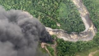 Nuevo atentado contra el Oleoducto Trasandino, en Putumayo