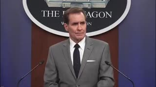 """Pentagon Sec. John Kirby: I cannot confirm"""" who was killed in drone strike targeting ISIS-K targets"""