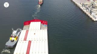 Memphis Bridge and Mr. Jonah, at Skyway Bridge & Port of Tampa