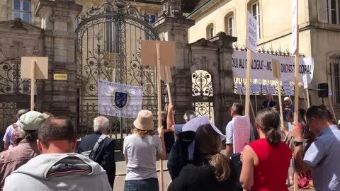 Dijon Latin Mass Protest