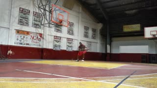 Obinna Obifly Ezeike Basketball workout session #1