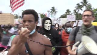 EE.UU. protesta en contra del racismo y la brutalidad policial