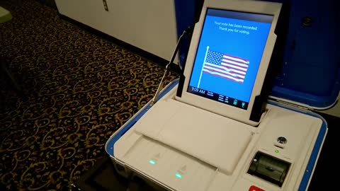 First Look at Five Voting Machines for PA