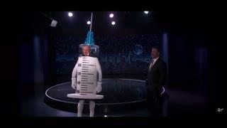 QAnon Gives Vaccine Warning on Jimmy Kimmel Live