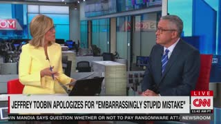 Jeffrey Toobin Back On CNN Since Zoom Call Masturbation Incident