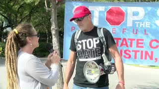 Quick chat with Lauren Morris, Austin, Texas, Stop the Steal 11.14.20