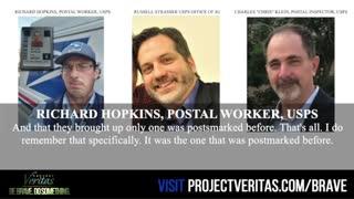 Postal worker Richard Hopkins, USPS Interview
