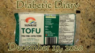 Tofu - Blood Sugar Test