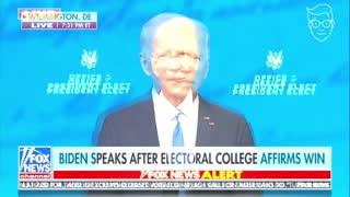 Joe Biden's Speech Went Well