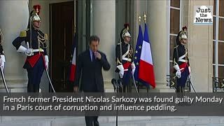 Ex-France leader Sarkozy convicted of corruption, sentenced to jail