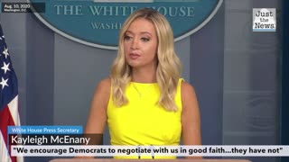 Kayleigh McEnany talks about the Democrats not wanting to negotiate an actual deal