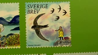 Greta Thunberg will feature on Swedish stamps