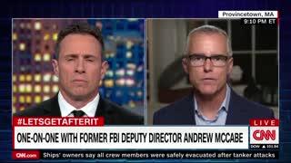 Andrew McCabe pushes for Trump's impeachment