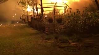 House fire 1000 degress