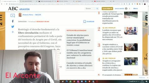 Aragón se arroga por ley el derecho a confinar la región sin estado de alarma