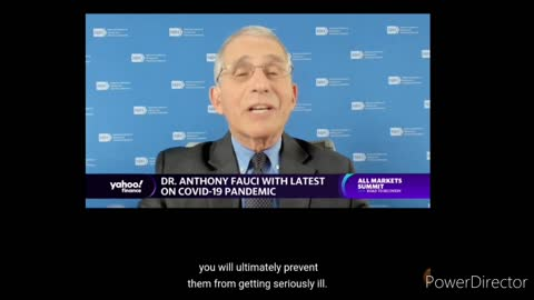 Fauci: primary consideration is eliminate illness