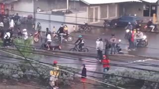 Cartagena en llamas por protestas