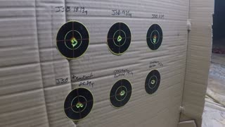 Benjamin Cayden PCP Air Rifle 22cal Accuracy Testing 6 Different Pellets @ 27yrds