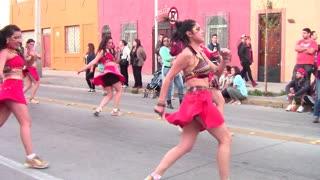 Bolivian and Peruan Cultural dance music in santiago, Chile
