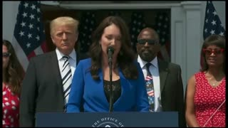 Former President Donald Trump makes a significant announcement