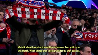 Angel Correa on life with Atletico Madrid