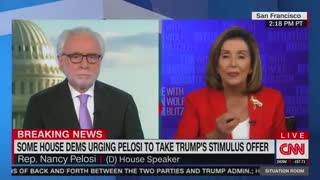 Pelosi accuses CNN's Wolf Blitzer of being an 'apologist' for Republicans