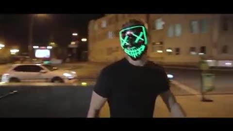 LED Light up Mask for Festival Cosplay Halloween Costume