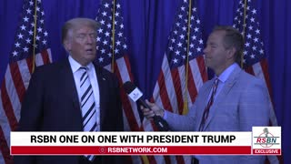 RSBN Interview with Trump after Law Suite Announcement, July 7th 2021