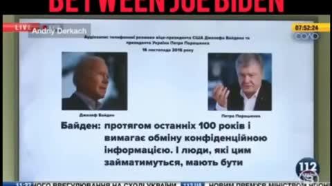 Biden/Ukraine Phone Recording