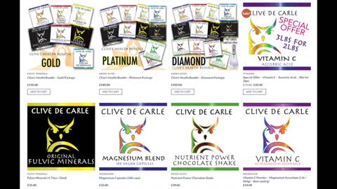 SUPPLEMENTS, WHAT TO CONSIDER, HOW MUCH TO TAKE AND HOW OFTEN WITH CLIVE DE CARLE