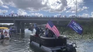 Lake County Florida Trump Parade Dead River