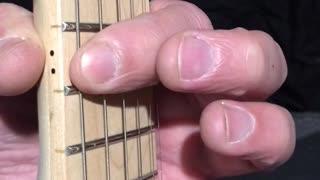 Beginner Guitar Exercises - Using Pointer Finger to Fret Several Frets On A Single String