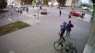 Serious Accident Near Lucky Pedestrians