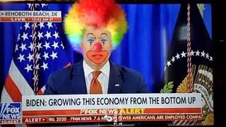 President clown biden