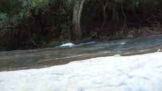 Calming river sounds