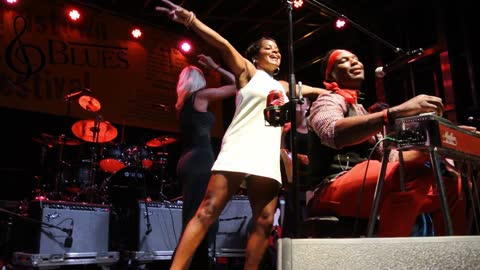 2016-08-20 Robert Randolph at Morristown Jazz and Blues Festival