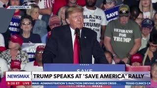 💥Space Force Will Be Most Important - President Trump @ Iowa Rally