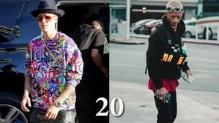Justin Bieber vs Jaden Smith body transformation 2021