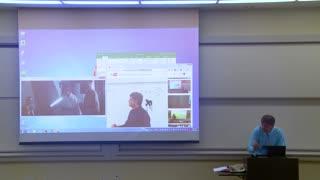 Professor Fixes Projector Screen /April Fools Prank/