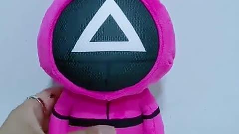 Squid Game Plush Toy Kawaii Stuffed Doll