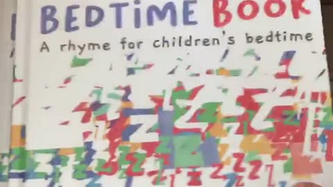 #9 Children's Book - The Best Bedtime Book - Hardback and Illustration Personal Preview