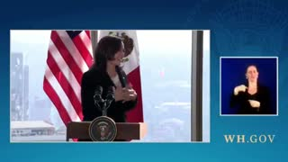 """Before Asking Question, Reporter Tells Kamala Harris """"It's An Honor...I Voted For You"""""""